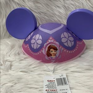 Disney parks original kids hat Sofia